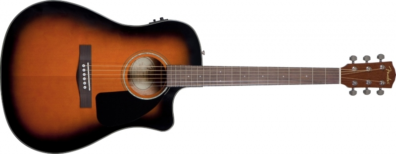 Fender Fender CD-60 CE Sunburst