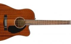 Chitara electro-acustica Fender CD-60 SCE All Mahogany