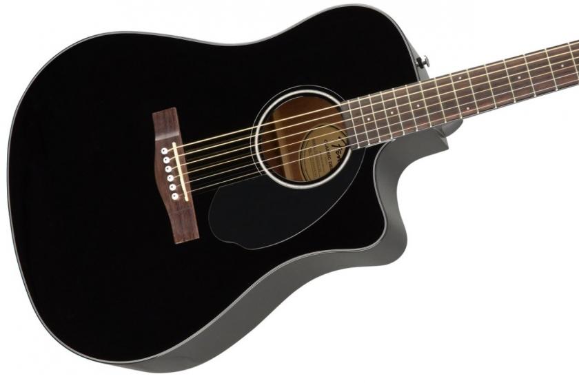 Chitara electro-acustica 4/4 Fender CD-60 SCE BK
