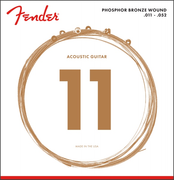 Fender Phosphor Bronze 60CL 11-52