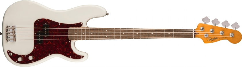Fender Squier Classic Vibe 60s P-Bass LRL Olympic White
