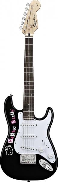 Fender Squier Hello Kitty Mini