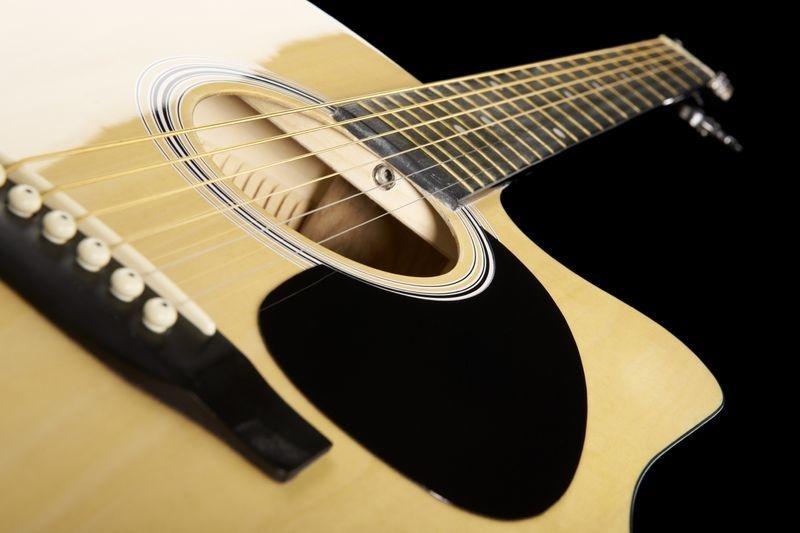 Chitara electro-acustica Fender Squier SA-105CE NAT