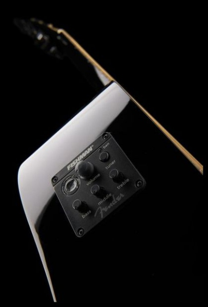 Chitara electro-acustica Fender Squier SA-105CE BK