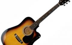 Chitara electro-acustica Fender Squier SA-105CE SB