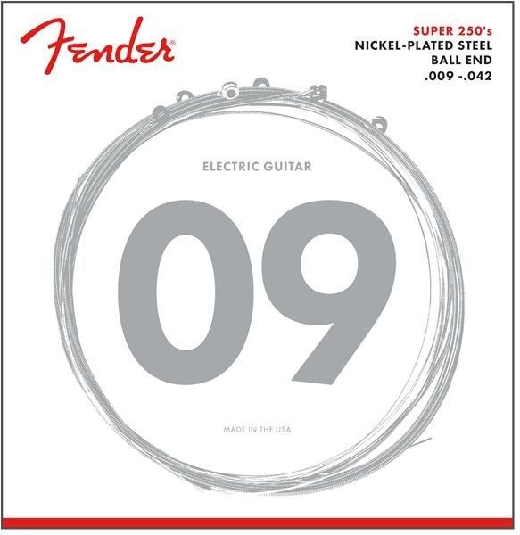 Fender Super 250L NPS 09-42