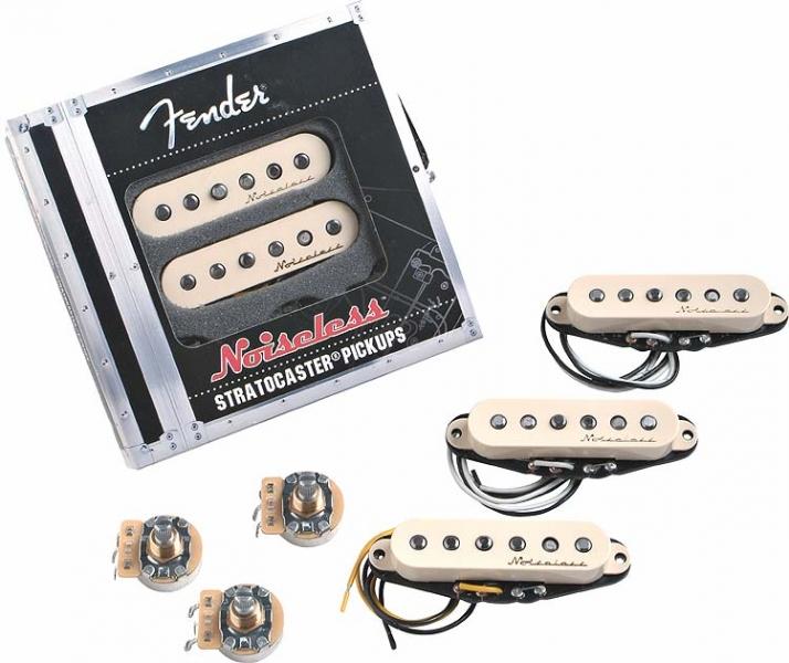 Fender Vintage Noiseless Strat 3 White