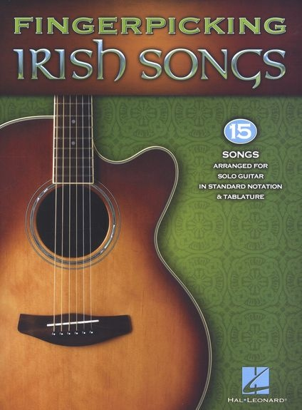 No brand FINGERPICKING IRISH SONGS GUITAR SOLO GTR BK