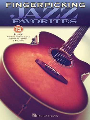 No brand FINGERPICKING JAZZ FAVORITES GUITAR SOLO GTR BK