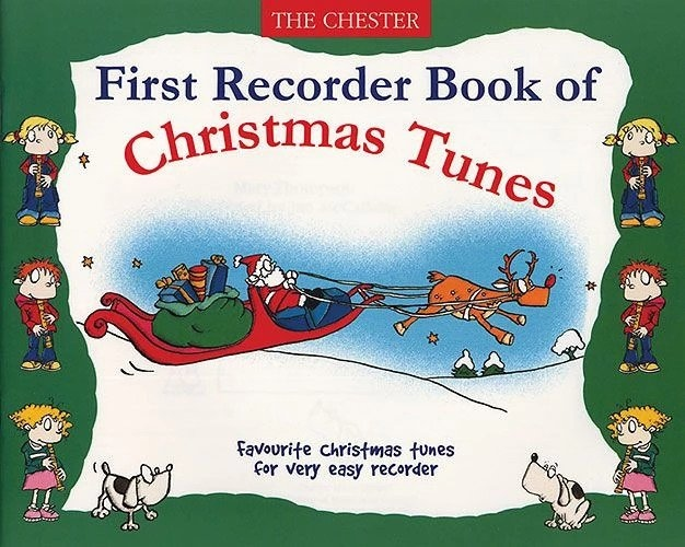 No brand First Recorder Book Of Christmas Tunes