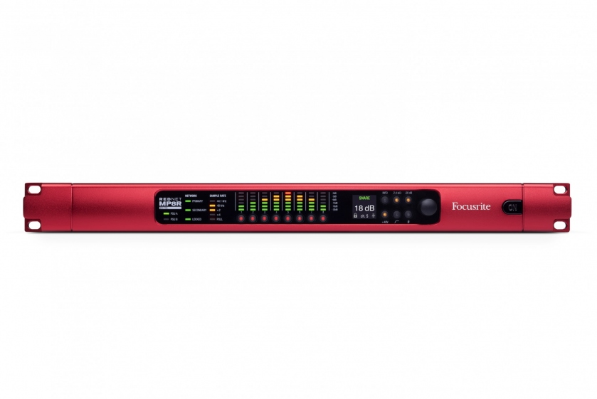 Preamplificator Focusrite RedNet MP8R
