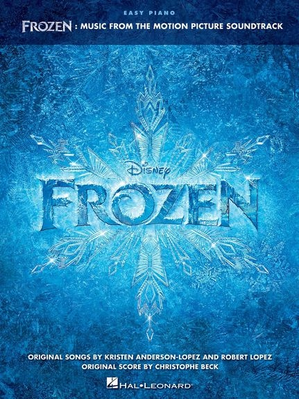 No brand FROZEN MUSIC FROM THE MOTION PICTURE SOUNDTRACK EASY PIANO SONGBOOK BK