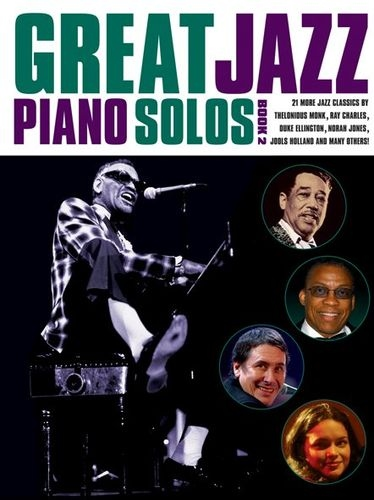 No brand GREAT JAZZ PIANO SOLOS BOOK 2 PIANO BOOK
