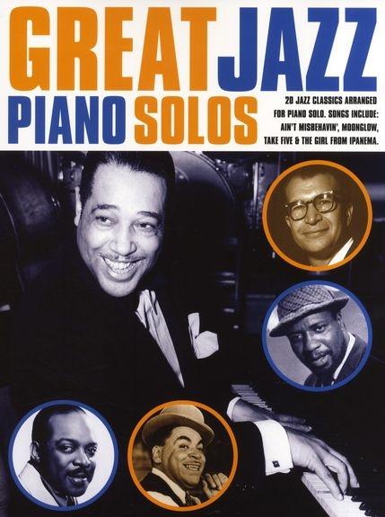 No brand GREAT JAZZ PIANO SOLOS PIANO BOOK