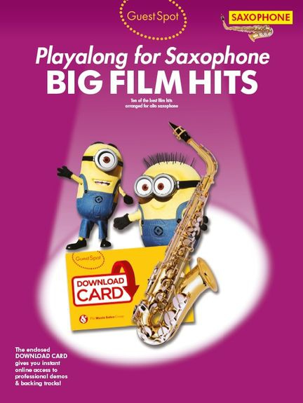 No brand Guest Spot: Big Film Hits Playalong For Alto Saxophone