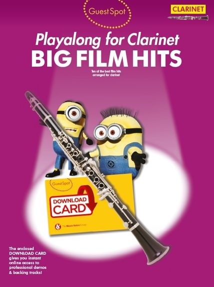 No brand Guest Spot: Big Film Hits Playalong For Clarinet