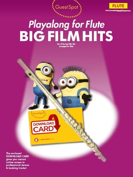 No brand Guest Spot: Big Film Hits Playalong For Flute