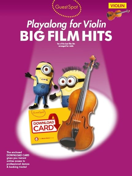 No brand Guest Spot: Big Film Hits Playalong For Violin