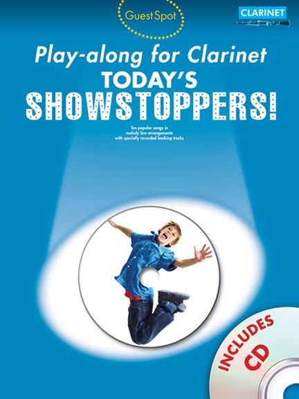 No brand Guest Spot Playalong For Clarinet: Today's Showstoppers
