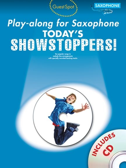 No brand Guest Spot Playalong For Saxophone: Today's Showstoppers