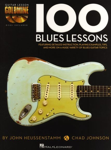No brand GUITAR LESSON GOLDMINE 100 BLUES LESSONS GTR BK/2CD