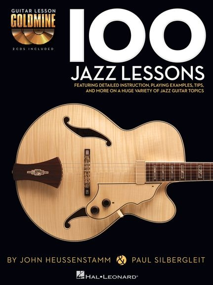 No brand GUITAR LESSON GOLDMINE 100 JAZZ LESSONG GTR BK/2CD