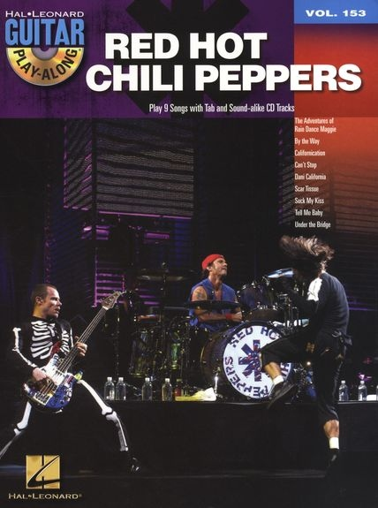 No brand GUITAR PLAY ALONG VOLUME 153 RED HOT CHILI PEPPERS GTR BK/CD