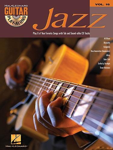 No brand GUITAR PLAY-ALONG VOLUME 16  JAZZ GUITAR GTR BOOK/CD