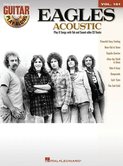 No brand GUITAR PLAY ALONG VOLUME 161 THE EAGLES ACOUSTIC GUITAR BOOK/CD