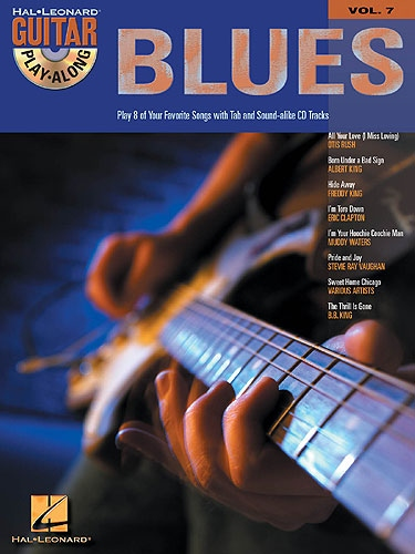 No brand GUITAR PLAY-ALONG VOLUME 7 BLUES GUITAR GTR BOOK/CD