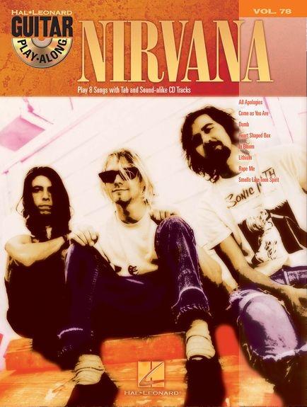 No brand GUITAR PLAY-ALONG VOLUME 78 NIRVANA GUITAR TAB BOOK/CD
