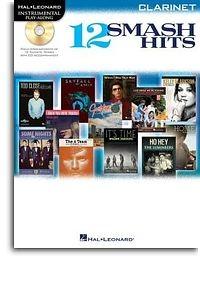 No brand Hal Leonard Instrumental Play-Along: 12 Smash Hits (Clarinet)