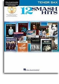 No brand Hal Leonard Instrumental Play-Along: 12 Smash Hits (Tenor Saxophone)