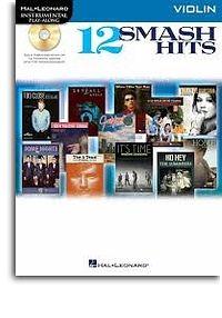 No brand Hal Leonard Instrumental Play-Along: 12 Smash Hits (Violin)