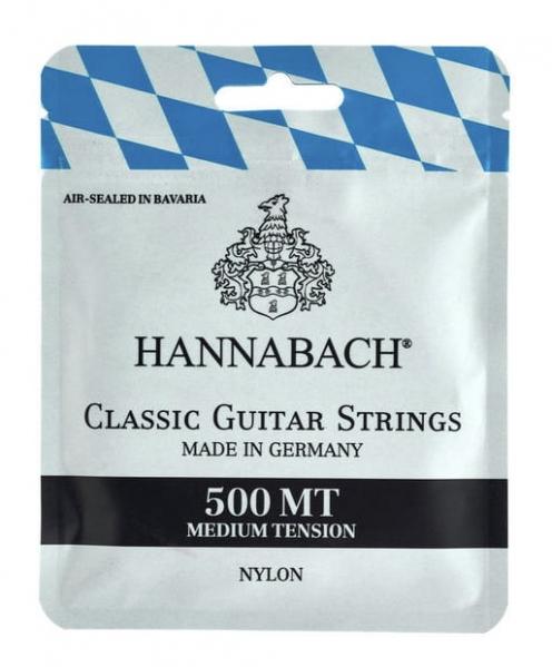 Set de corzi pentru chitara clasica Hannabach Serie 500 Medium