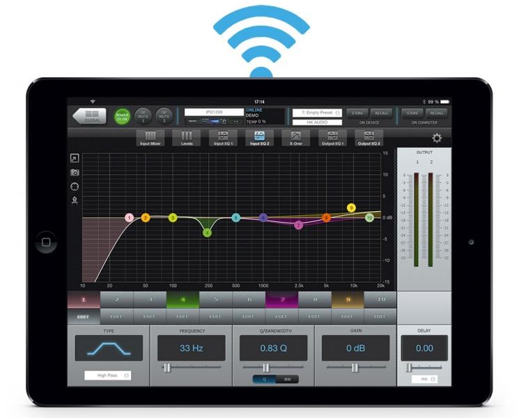 HK Audio Key Rack 2.24 - iPad remote