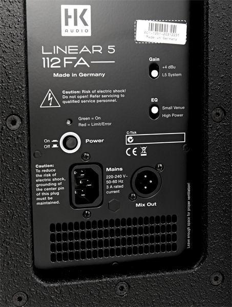 Boxa activa HK Audio Linear L5 112 FA