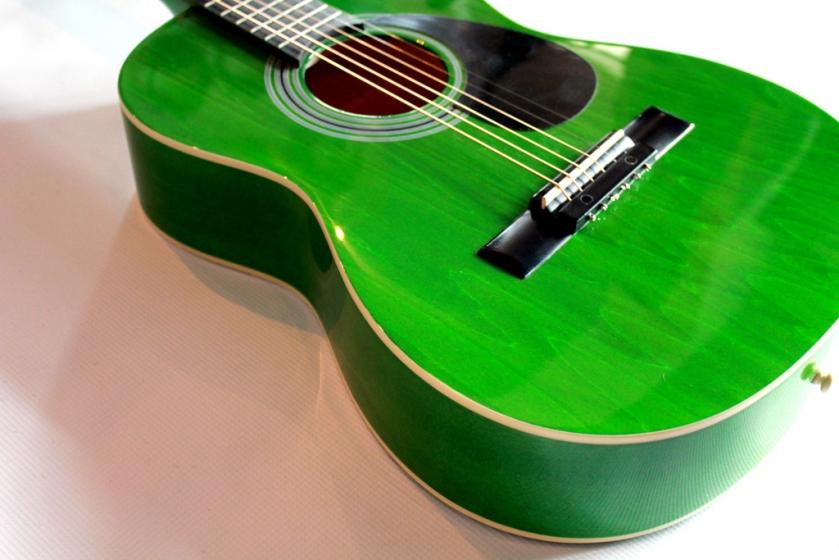 verde cu gat de acustica