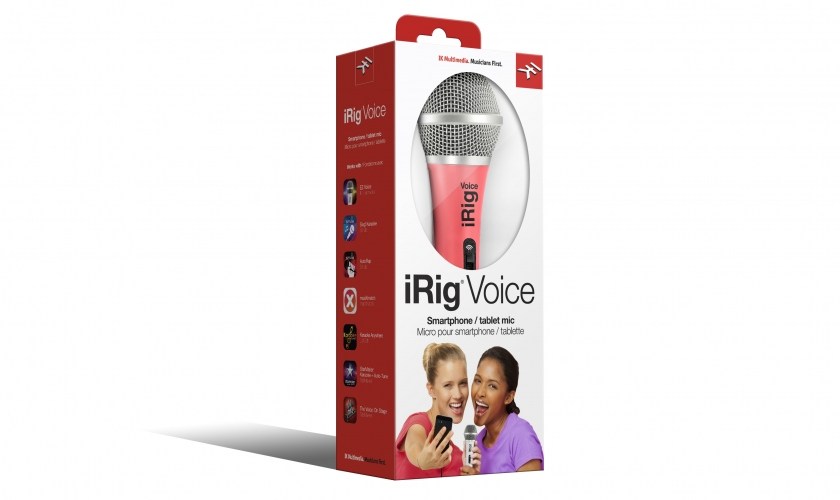 IK Multimedia iRig Voice Pink