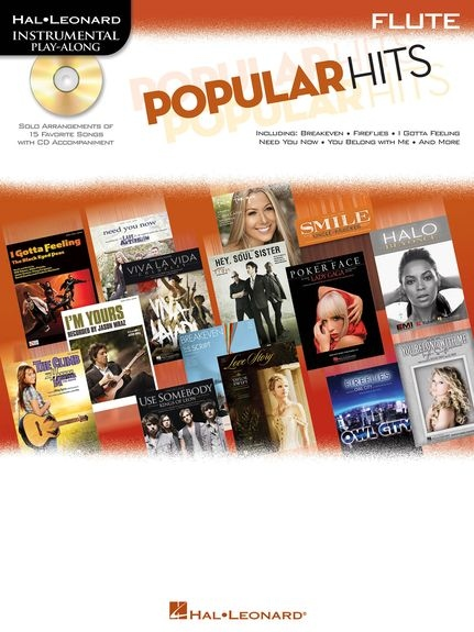 No brand Instrumental Play-Along: Popular Hits - Flute