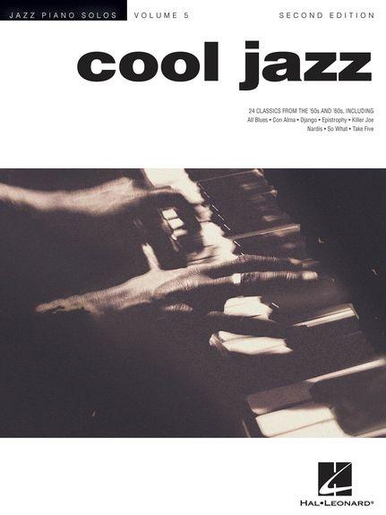 No brand JAZZ PIANO SOLOS COOL JAZZ PF BK