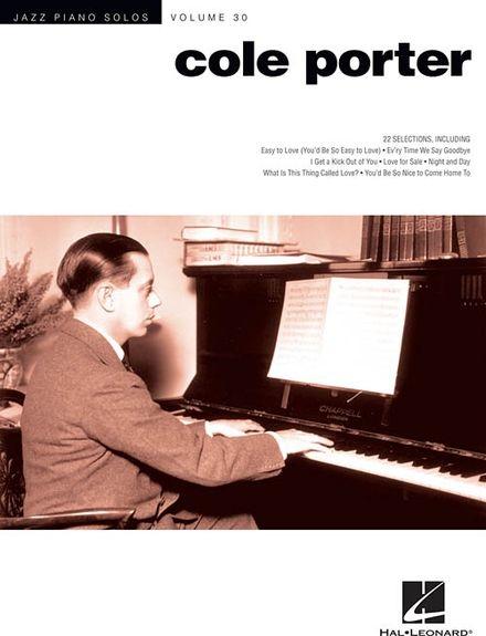 No brand JAZZ PIANO SOLOS VOLUME 30 COLE PORTER PIANO BOOK