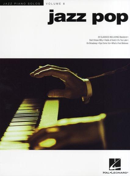 No brand JAZZ PIANO SOLOS VOLUME 8 JAZZ POP PIANO SOLO SONGBOOK PF BK