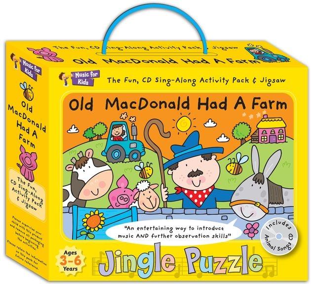 No brand Jingle Puzzle Old MacDonald Had A Farm