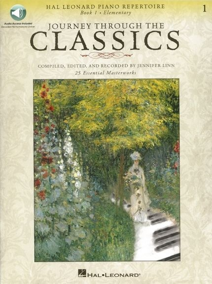 No brand JOURNEY THROUGH THE CLASSICS BK 1 ELEMENTARY PF BK/AUDIO ONLINE