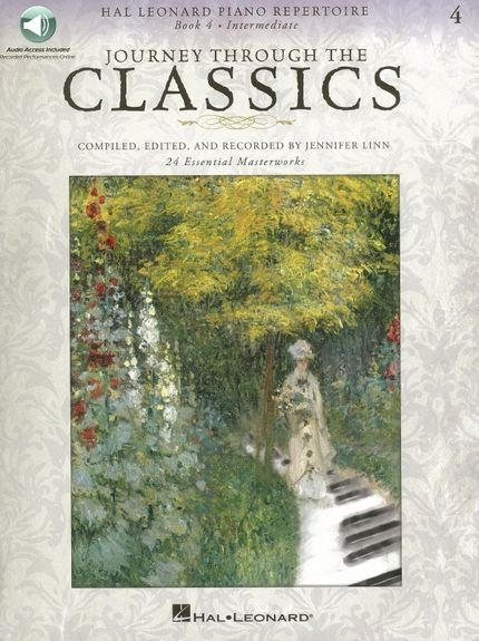 No brand JOURNEY THROUGH THE CLASSICS BK 4 INTERMEDIATE PF BK/AUDIO ONLINE