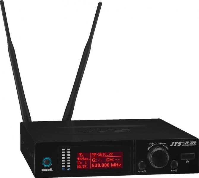 Receptor wireless multi-frecventa JTS UF-20S/5