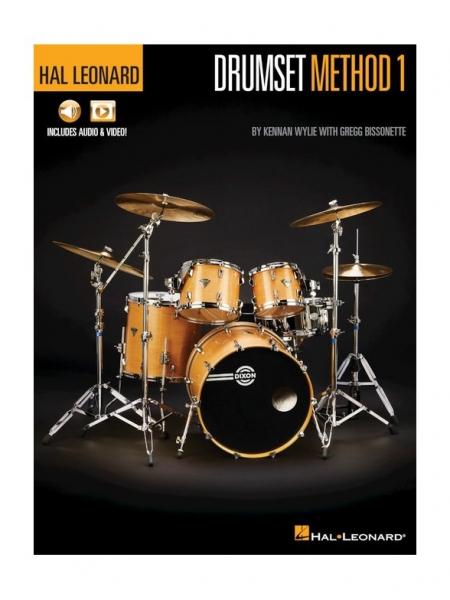 No brand K. Wylie, G. Bissonette: Hal Leonard Drumset Method – Book 1
