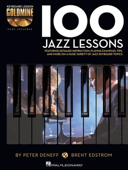 No brand KEYBOARD GOLDMINE 100 JAZZ LESSONS PF BK/2CD