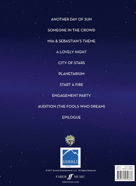 No brand La La Land: Music From The Motion Picture Soundtrack - Easy Piano
